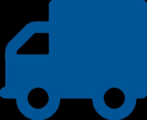 Pictogramme d'un camion activité route nationale et internationale